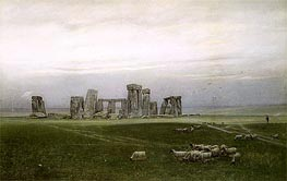 Stonehenge, c.1882 by William Trost Richards | Painting Reproduction