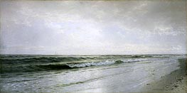 Quiet Seascape | William Trost Richards | Gemälde Reproduktion