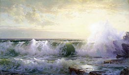Newport Coast, 1902 by William Trost Richards | Painting Reproduction