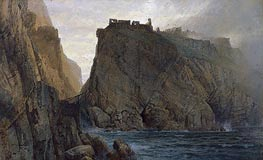 Tintagel on the Cornish Coast, 1879 von William Trost Richards | Gemälde-Reproduktion