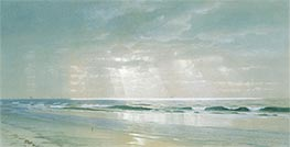 Surf, 1870 by William Trost Richards | Painting Reproduction