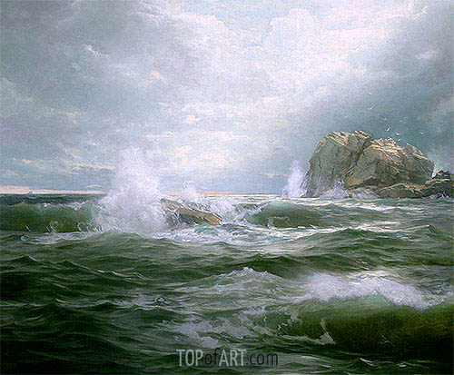 Clearing after the Storm, 1889 | William Trost Richards | Painting Reproduction