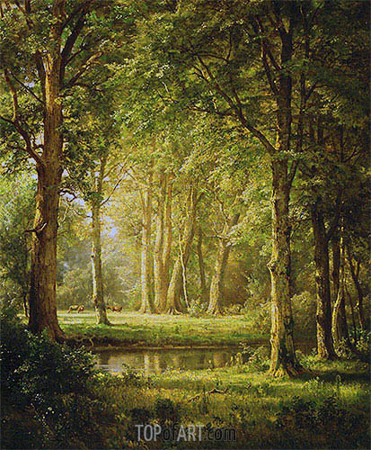 Early Summer, 1888 | William Trost Richards | Gemälde Reproduktion