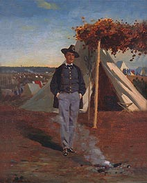 Portrait of Albert Post, 1866 von Winslow Homer | Gemälde-Reproduktion