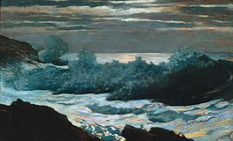 Early Morning after Storm at Sea, 1902 von Winslow Homer | Gemälde-Reproduktion