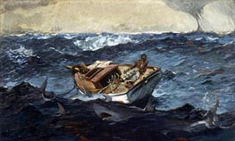 The Gulf Stream, 1899 von Winslow Homer | Gemälde-Reproduktion