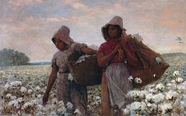 The Cotton Pickers, 1876 von Winslow Homer | Gemälde-Reproduktion