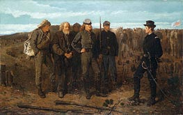 Prisoners from the Front, 1866 von Winslow Homer | Gemälde-Reproduktion