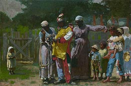 Dressing for the Carnival, 1877 von Winslow Homer | Gemälde-Reproduktion