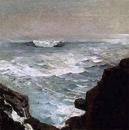 Cannon Rock, 1895 von Winslow Homer | Gemälde-Reproduktion