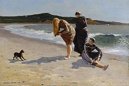 Eagle Head, Manchester, Massachusetts (High Tide) | Winslow Homer | Painting Reproduction