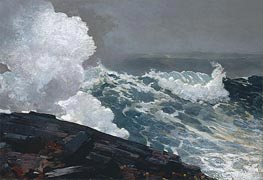 Northeaster | Winslow Homer | Painting Reproduction