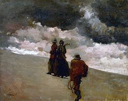 To the Rescue, 1886 by Winslow Homer | Painting Reproduction