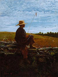 On Guard, 1864 by Winslow Homer | Painting Reproduction
