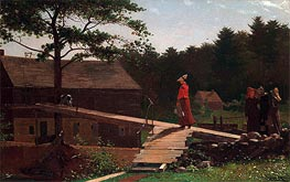 Old Mill (The Morning Bell) | Winslow Homer | Gemälde Reproduktion
