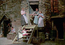 Sparrow Hall, c.1881/82 by Winslow Homer | Painting Reproduction