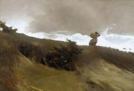 The West Wind | Winslow Homer | Painting Reproduction
