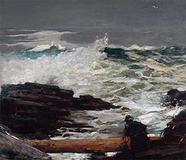 Driftwood | Winslow Homer | Painting Reproduction