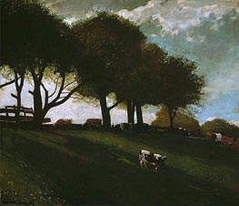 Twilight at Leeds, New York | Winslow Homer | Painting Reproduction