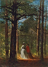 Waverly Oaks, 1864 by Winslow Homer | Painting Reproduction