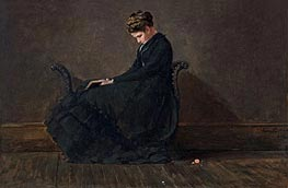Portrait of Helena de Kay | Winslow Homer | Painting Reproduction