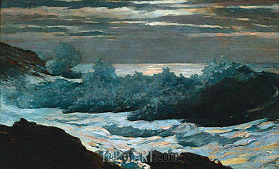 Early Morning after Storm at Sea, 1902 | Winslow Homer | Painting Reproduction