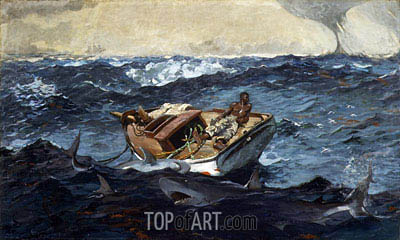 The Gulf Stream, 1899 | Winslow Homer | Painting Reproduction