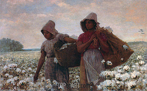 The Cotton Pickers, 1876 | Winslow Homer | Painting Reproduction