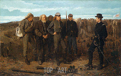 Prisoners from the Front, 1866 | Winslow Homer | Painting Reproduction