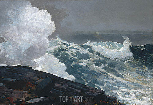 Northeaster, 1895 | Winslow Homer | Painting Reproduction