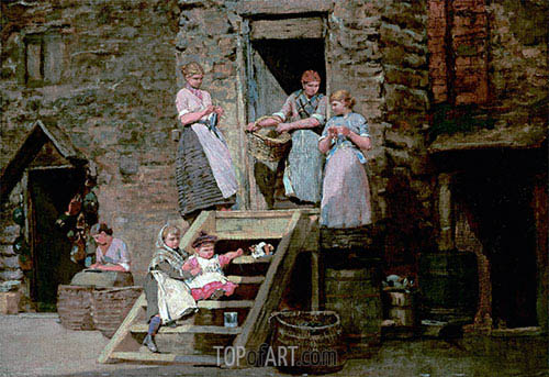 Sparrow Hall, c.1881/82 | Winslow Homer | Painting Reproduction