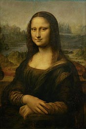 Mona Lisa (La Gioconda) | Leonardo da Vinci | Painting Reproduction