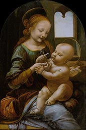 Benois Madonna | Leonardo da Vinci | Painting Reproduction