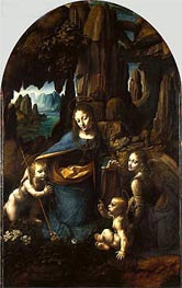 The Virgin of the Rocks, c.1493/08 by Leonardo da Vinci | Painting Reproduction