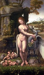 Leda and the Swan, c.1505/15 by Leonardo da Vinci | Painting Reproduction