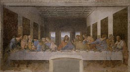 Last Supper, c.1495/98 by Leonardo da Vinci | Painting Reproduction