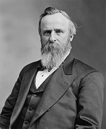 Portrait of Rutherford B. Hayes, undated von Custom Paintings | Gemälde-Reproduktion
