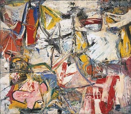 Gotham News (de Kooning), 1955 by Custom Paintings | Painting Reproduction