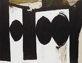 Elegy to the Spanish Republic, 54 (Robert Motherwell), c.1957/61 by Custom Paintings | Painting Reproduction