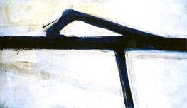 Untitled (Franz Kline), 1955 by Custom Paintings | Painting Reproduction