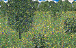 Meadow in Flowers (Inspired by Klimt) | Custom Paintings | Painting Reproduction