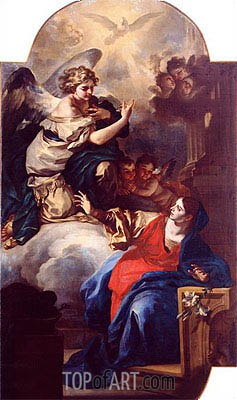 The Annunciation, Undated | Custom Paintings | Painting Reproduction