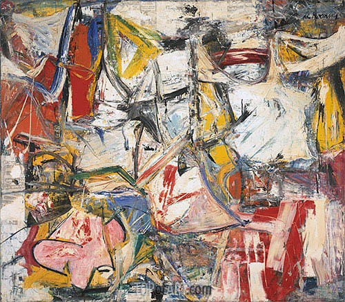 Gotham News (de Kooning), 1955 | Custom Paintings | Painting Reproduction