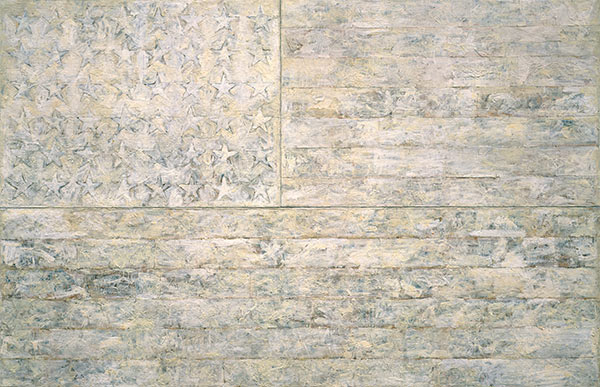 White Flag by Jasper Johns, 1966 | Custom Paintings | Painting Reproduction